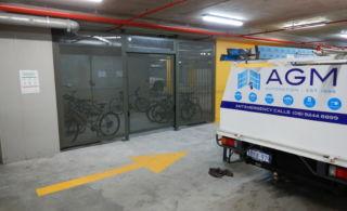 Bike Cage AU Apartments