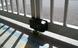 Cisa Vehicle gate Lock