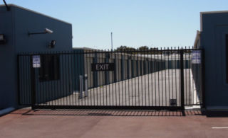 Gnangara Storage Facility - Security gate