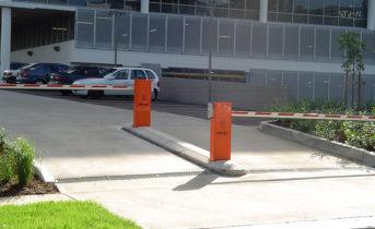 Malaga Entry & Exit Boom Gates - Employee Carpark