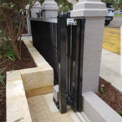 Telescopic Sliding Gate - Cottesloe